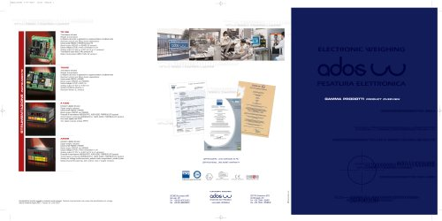 BROCHURE PRODUCT OVERVIEW