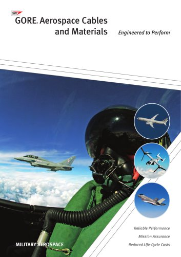 GORE® Aerospace Cables and Materials - Military Applications
