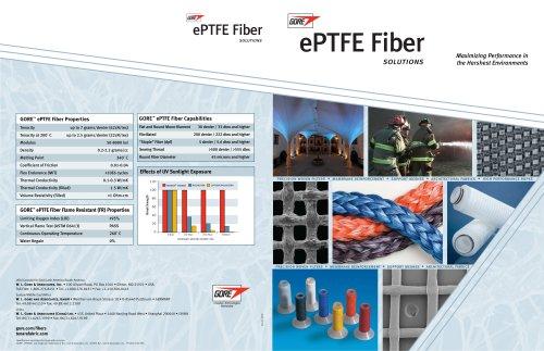 GORE PTFE Fiber Solutions