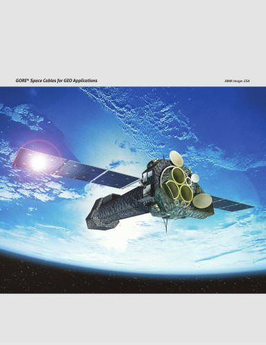 GORE® Space Cables and Assemblies - GEO Applications Data Sheet