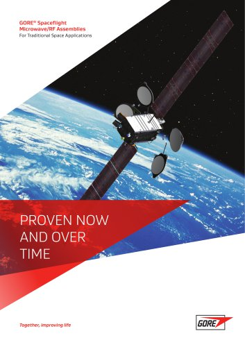 GORE® Spaceflight Microwave/RF Assemblies For Traditional Space Applications