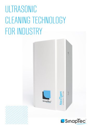 Ultrasonic Cleaning Technolgy For Industry