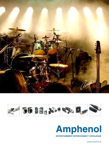Amphenol audio catalogue