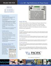 390-ASX Model (9000 VA) - High Performance AC Power Source - 1