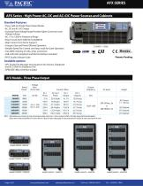 AC POWER SOURCE CATALOG - 6