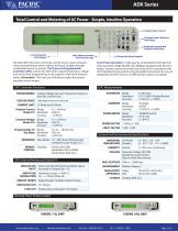 ADX Series Single-Phase Basic Function AC Power Sources - 3