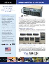 AFX Series Programmable AC and DC Power Sources - 1