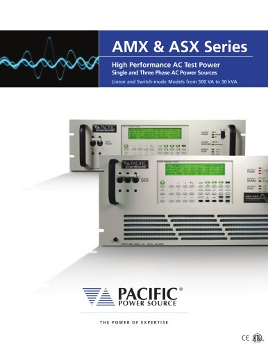 ASX + AMX 16-page Combo Product Brochure