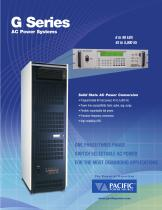 G Series AC Power Systems - 1