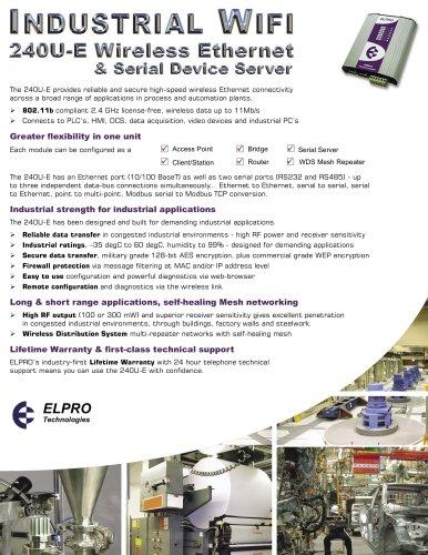 240U-E Wireless Ethernet Modem