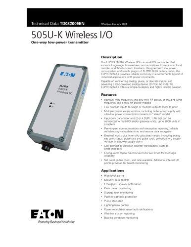 505U-K Radio Telemetry Module
