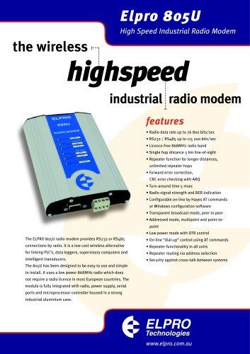 805U-D Wireless Radio Modem