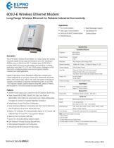 805U-E Wireless Ethernet Modem