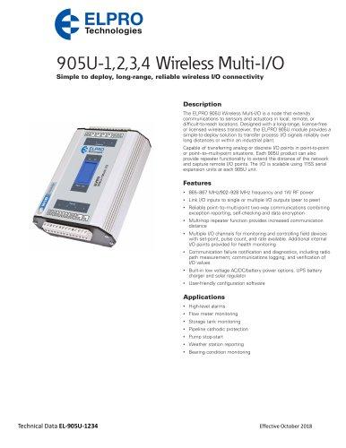 905U-1,2,3,4 Wireless Multi-I/O