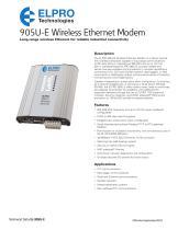 905U-E Wireless Ethernet Modem