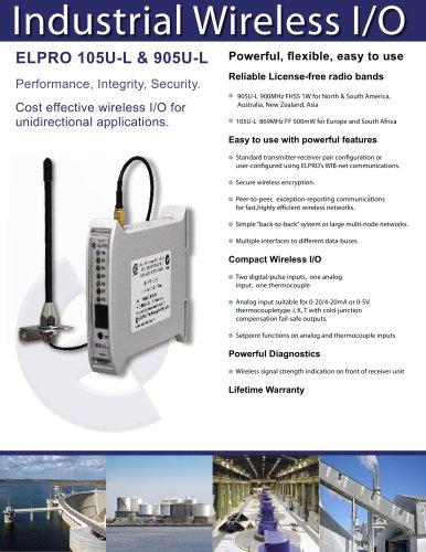 905U-L Unidirectional  Wireless I/O