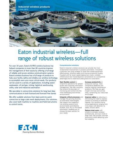 Industrial Wireless Line Card