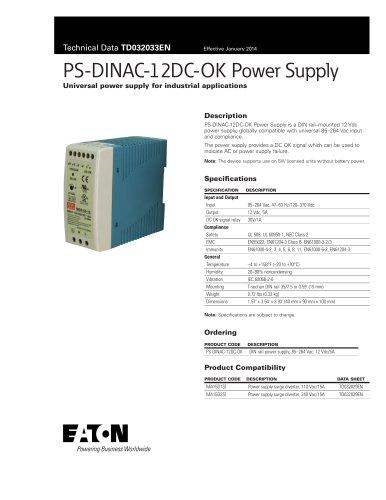 PS-DINAC-12DC-OK Power Supply