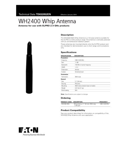 WH2400 Whip Antenna
