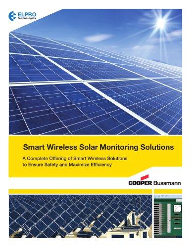 Wireless solar solutions
