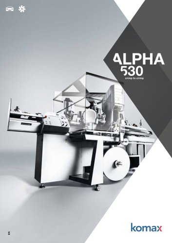 Alpha 530 Crimping machine