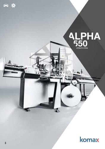 Alpha 550 Crimping machine