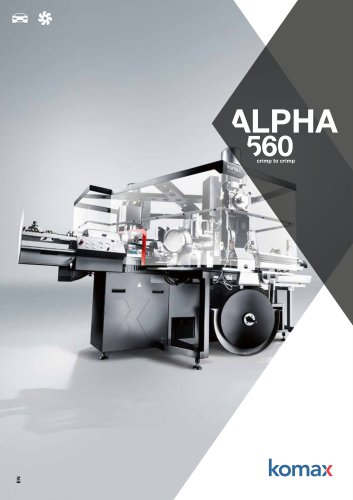 Alpha 560 Crimping machine