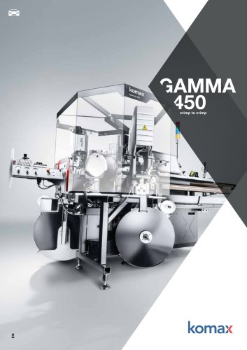 Gamma 450 Crimping machine