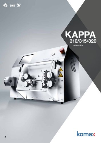 Kappa 310/315/320 Stripping machine