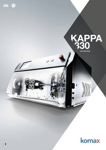 Kappa 330 Cutting and stripping machine