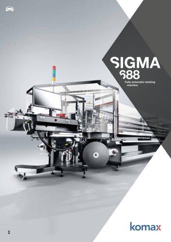 Sigma 688 Crimping and twisting machine