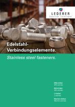 Lederer article range, DIN-/ISO-/L- and M-items