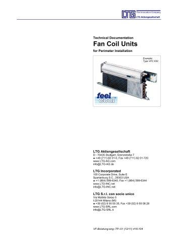 Fancoil Units Perimeter Installation