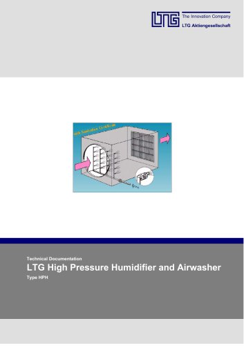 High pressure Humidifier and Airwasher