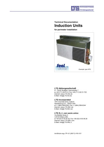 Induction Units for Perimeter Installation