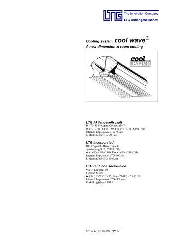 LTG cool wave®