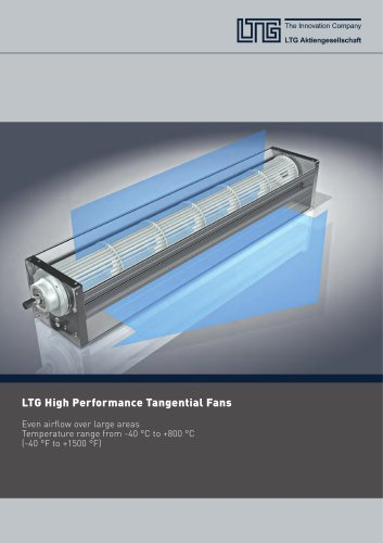 LTG High Performance Tangential Fans
