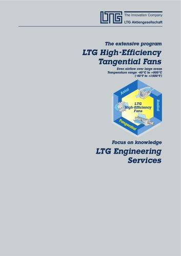 Overview High-efficiency Tangential Fans