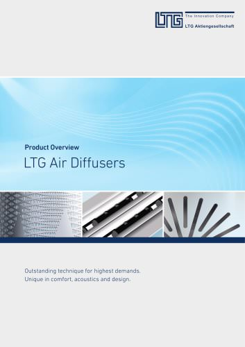 Product Overview Air Diffusers
