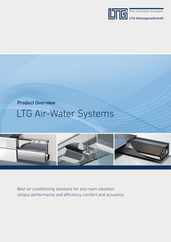 Product Overview Air-Water Systems