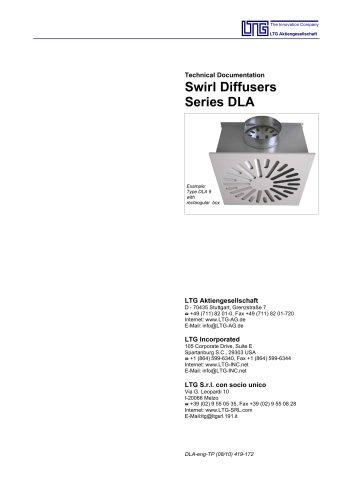 Swirl Diffusers Type DLA