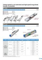 Linear motor single axis robots - 2
