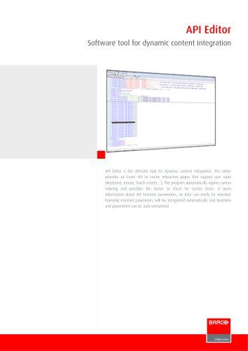 API Editor
