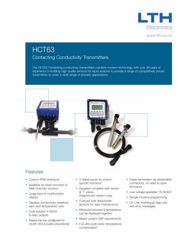 HCT63 Contacting Conductivity Transmitter