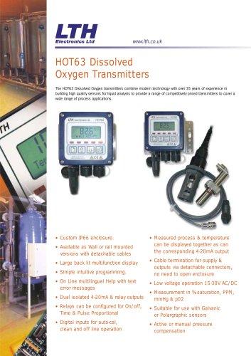 HOT63    Dissolved Oxygen Transmitter