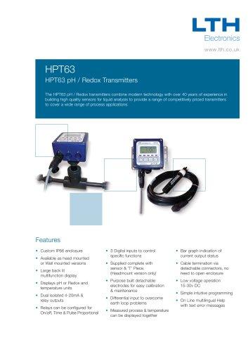 HPT63 pH / Redox Transmitter