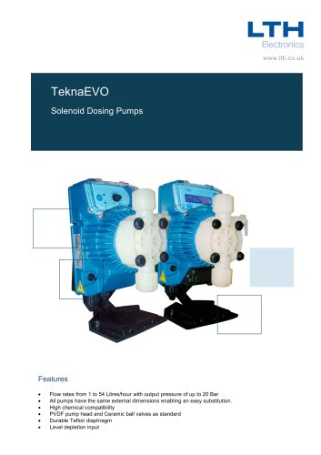 TeknaEvo    Solenoid Dosing Pump