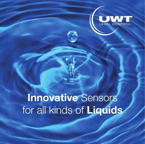 Innovative Sensors for Liquids - NEW at UWT