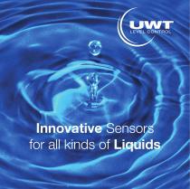 Innovative Sensors for Liquids by UWT