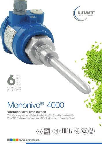 Product Flyer Mononivo® Vibration rod